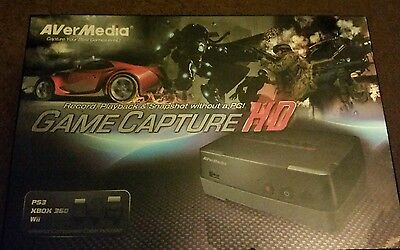 c281 game capture hd avermedia fully boxed