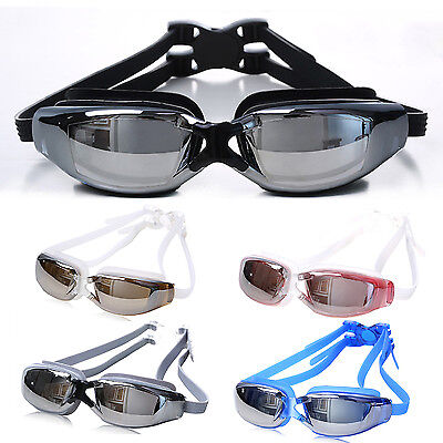 High Professional Adult Waterproof Anti-Fog UV Protect Glasses Swimming Goggles