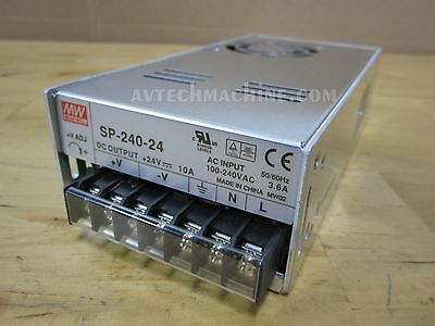 Power Supply Mean Well Sp-240-24 24Vdc 10A