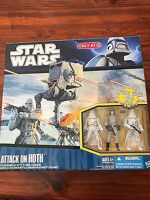 Star Wars Attack On Hoth Target Exclusive Misb