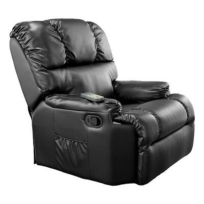 CRAFTENWOOD 6001 Massage Chair Relax Armchair Recliner + Heat Function RRP: £899