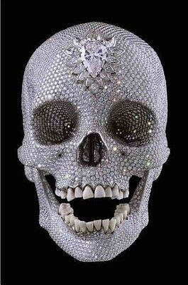 For the Love of God: The Making of the Diamond Skull by Damien Hirst Hardcover B