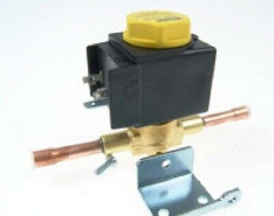 """Castel 1080/2A6E, Solenoid valve, 1/4"""" ODS Soldering, 0.23 m³/h, with Coil"""