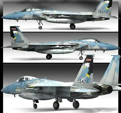 F-15C MSIP II 173rd Fighter Wing Plastic Model Kit Academy 1/72 Scale #12506