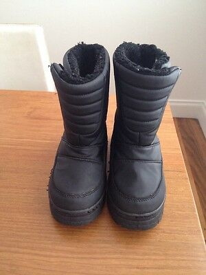 Kids Boys Or Girls Snow Boots. VGC. Size US 1-2, Eur 33-34 Shoes