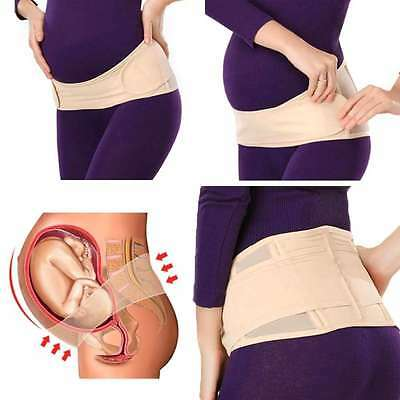 WOMENS Adjustable Pregnancy Support Belt Waist Back Abdomen Belly Band Brace
