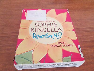 AUDIO Book SOPHIE KINSELLA Remember ME -Read By CHARLOTTE PARRY