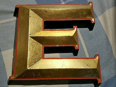 Fantastic vintage large advertising letter M or E