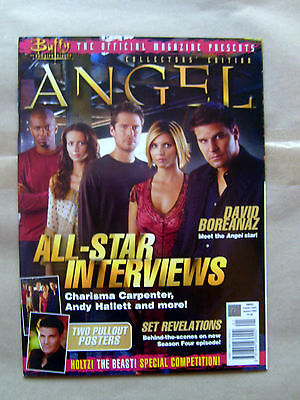 Buffy The Vampire Slayer Usa Official Magazine Presents - Angel