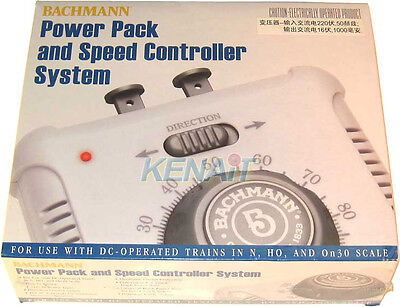Bachmann Power Pack & Speed Controller System DC-Operated Trains N HO On30 44212