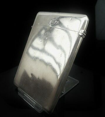 Silver Card Case, London 1870, William Summers, Antique