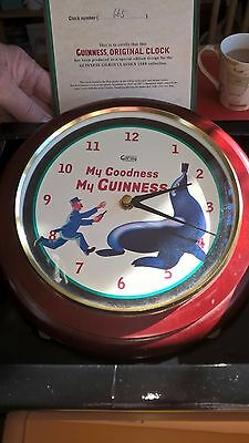 Guinness Toucon Wall Clock