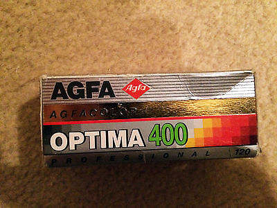 Agfa Optima 400 ISO 120 Colour Negative film - 1 roll lomo / lomography vintage