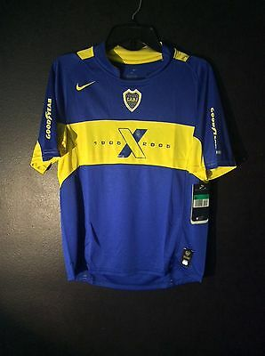 New Vintage Nike Youth XL (18-20) CABJ Boca Juniors Home Jersey - 1905-2005