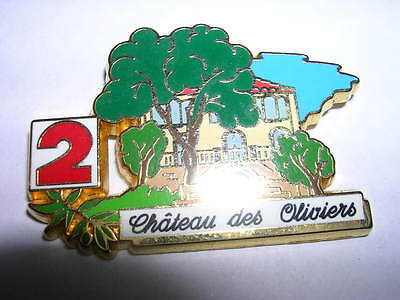 Pin's  Antenne 2 / Le Chateau Des Oliviers  / Lb Creations  /  Superbe  /  Rare