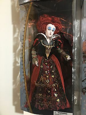 The Red Queen Doll, Alice Through The Looking Glass Disney Store