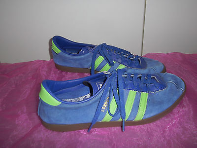 ADIDAS LONDON baskets tennis bleues gazelle pointure 44