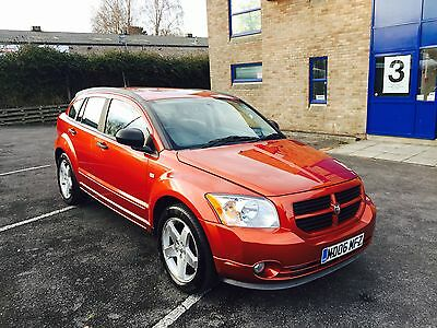 2006 Dodge (Usa) Caliber Sxt Sport D Orange