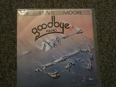 R. Stevie Moore ‎– Goodbye Piano (Vinyl Single, 1978 French label) Lo-Fi