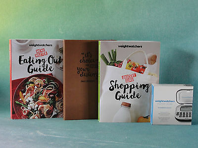 Weight Watchers 2016 / 2017 SMART Points STARTER SET + Points Calculator + Guide