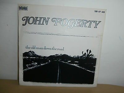 7 inch Vinyl         JOHN FOGERTY              ***THE OLD MAN DOWN THE ROAD***