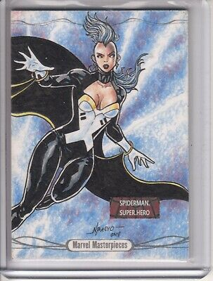2016 Marvel Masterpieces Red Foil Spectrum Base #43 Rogue #1/1 Very Rare VHTF