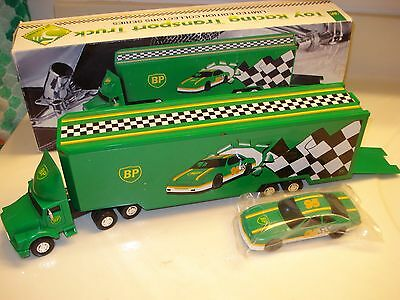 1995 BP Toy Racing Transport Truck Limited Edition Collectors Series 5th series