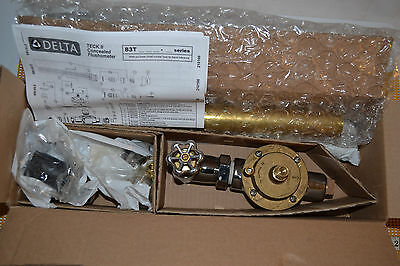 """NEW Delta Commercial 83T140 Flush Valve With 5/8"""" Pushbutton Activation"""