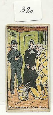 Trade / Cigarette Card Type Page Woodcock Humorous Sketches By Tom Browne 1902