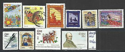 Ireland 2000/2010 - 10 stamps MNH / used