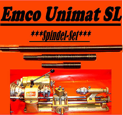 Spindle-Set, Spindle,Support,Lead Screw,Drehmaschine,Emco Unimat SL,Unimat DB200