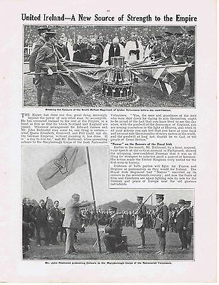 1915,WW1,Great War,United Ireland,Maryborough Corps,Belfast Ulster Volunteers