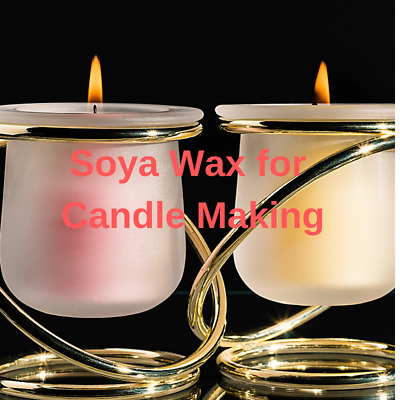 Soya Wax Flakes 100% Natural Vegetable Based, Massage Candle Making, Cosmetics