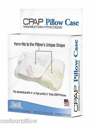 "Pillow Case for Contour CPAP Pillow by Contour Products - Fits 4"" and 5"" High"