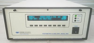 API Teledyne Photometric O3 Analyzer Model 400E Options 52,53  [JW]