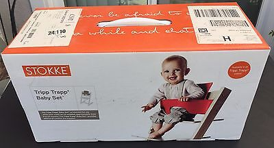 Stokke Trip Trap Baby Set Natural Color NEW in sealed box