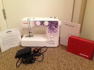 Janome 2015a Sewing Machine Rarely Used 1 Year Warranty Plus Sewing Kit Pack