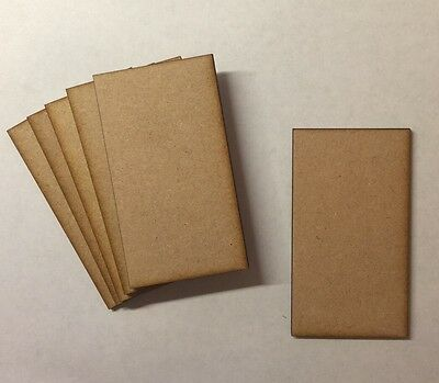 wooden rectangle bases 3mm laser cut mdf 90mm x 50mm warhammer wargames bolt act