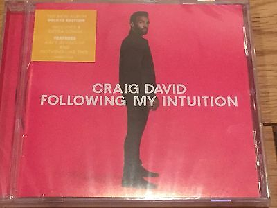 Craig David-  Following My Intuition Deluxe Cd 17 Tracks - Sealed