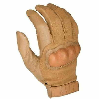HWI Gear Hard Knuckle Tactical Glove, XXLG, Coyote 300G **NEW**