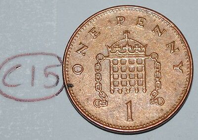 1998 Great Britain 1 Penny UK Coin KM# 986 Lot #C15