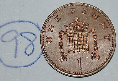 1983 Great Britain 1 Penny UK Coin KM# 927 Lot #98