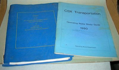 lot of CSX paperwork from the 1980's to 1990's