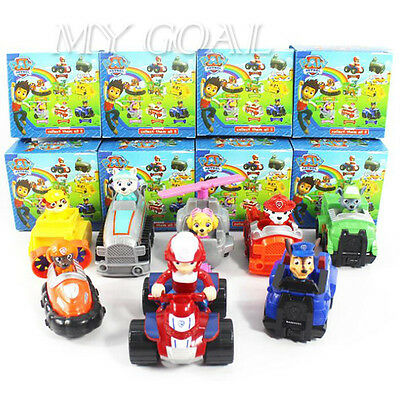 8 Style NEW HOT Kids Toys Car PAW PATROL Toy Skye Patrol Racer Pups GIFT Xmas
