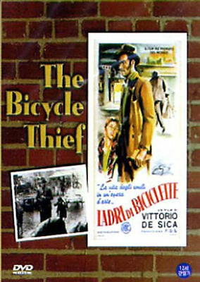The Bicycle Thief (1948) (DVD,All,Sealed,New) Lamberto Maggiorani, Enzo Staiola