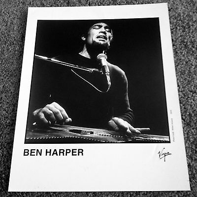 Ben Harper Original 8x10 Publicity Photo Rare
