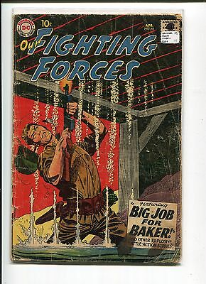 Our Fighting Forces 44 Gd+  Drucker Heath Andru  1959