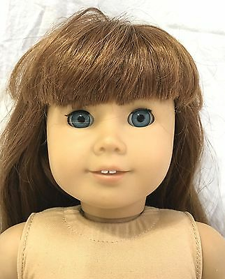 American Girl Just Like You #8 Doll with Long Brown Hair and Blue Eyes Bangs