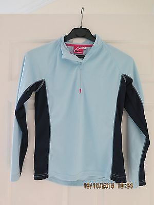 One Body Elevation Snow Base Layer Size 10 Blue Vgc