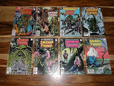 Swamp Thing #46 #47 #50 #51 #52 #53 #54 #55 LOT ~ 1ST JUSTICE LEAGUE DARK!!